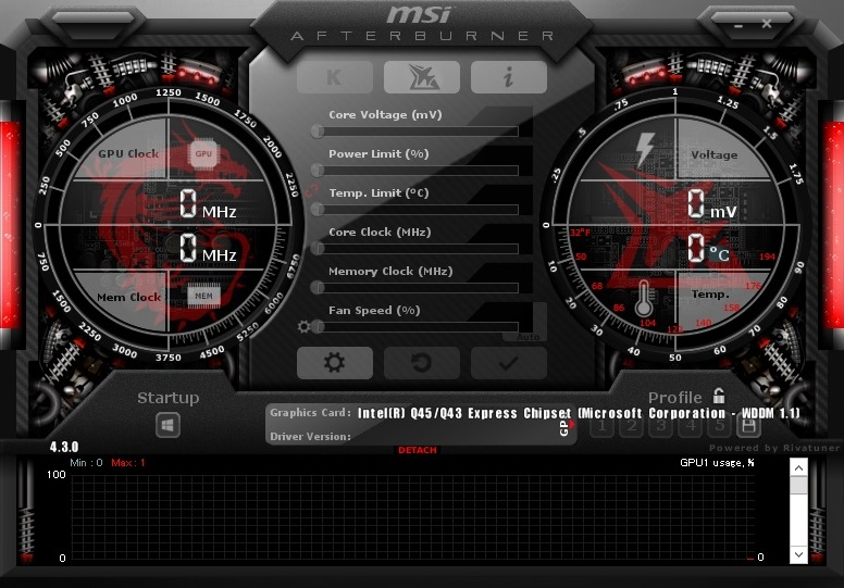 MSI Afterburner worked