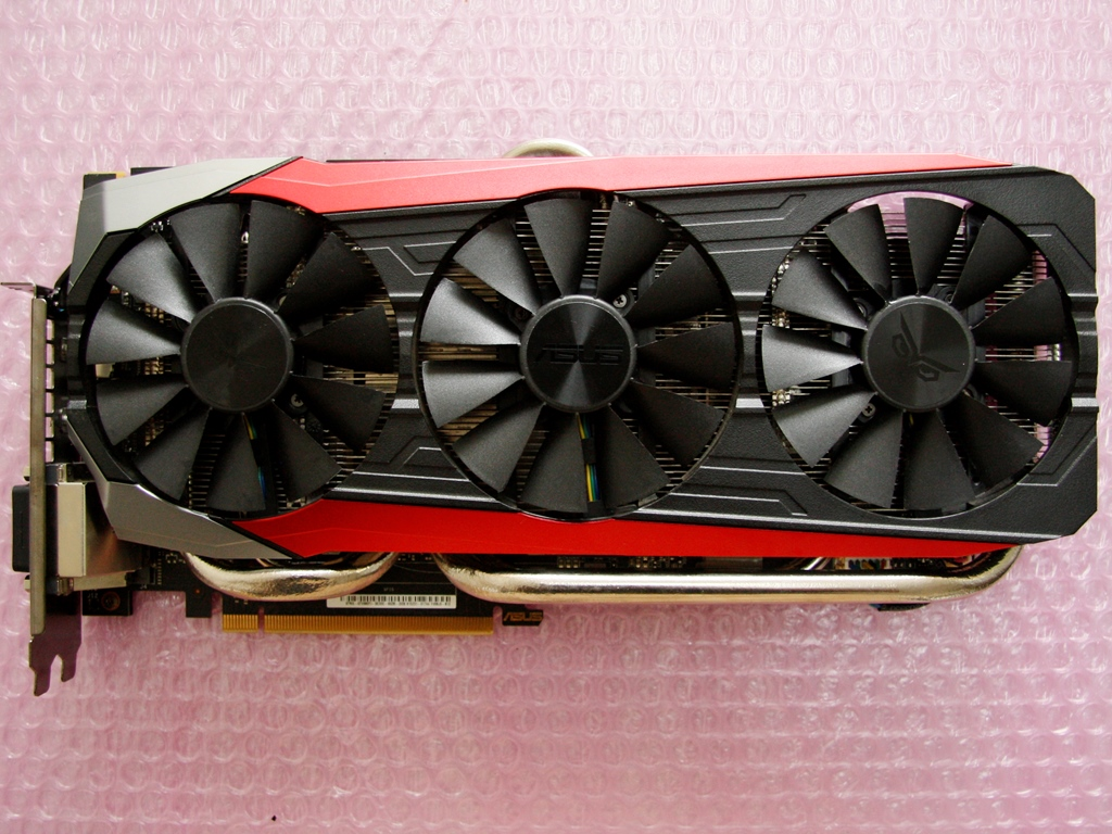Reassembled strix gtx 980 ti